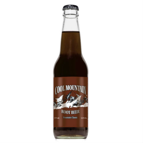 Cool Mountain Root Beer  - 12 oz (12 Glass Bottles)