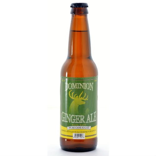 Dominion Ginger Ale - 12 OZ (12 Glass Bottles)