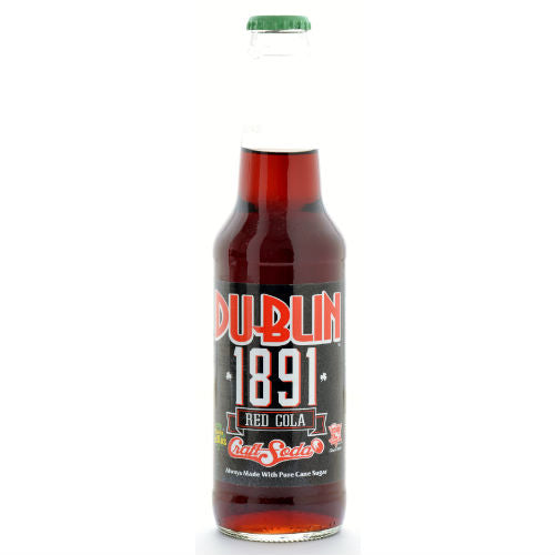 Dublin 1891 RED COLA - 12 oz (12 Glass Bottles)