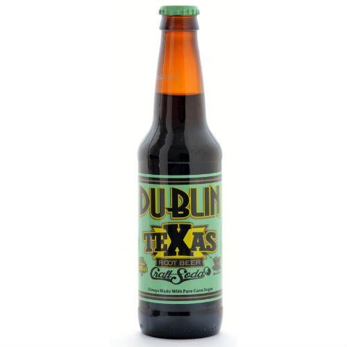 Dublin Texas Root Beer - 12 oz (12 Glass Bottles)