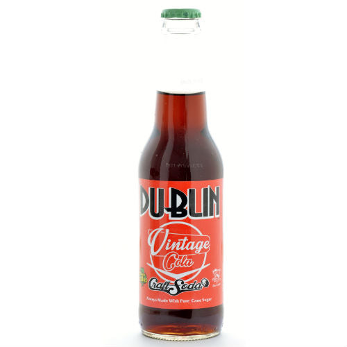 Dublin VINTAGE Cola Craft Soda - 12 oz (12 Glass Bottles)