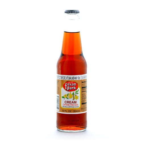 Foxon Park Cream Soda - 12 oz (12 Glass Bottles)