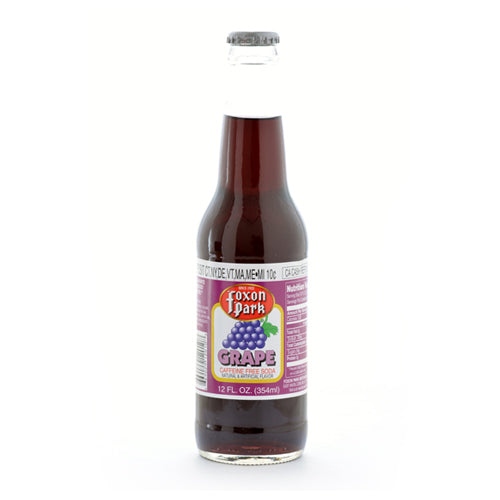 Foxon Park Grape - 12 oz (12 Glass Bottles)