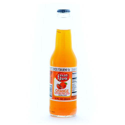 Foxon Park Orange  - 12 oz (12 Glass Bottles)