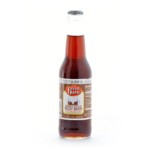 Foxon Park Root Beer - 12 oz (12 Glass Bottles)