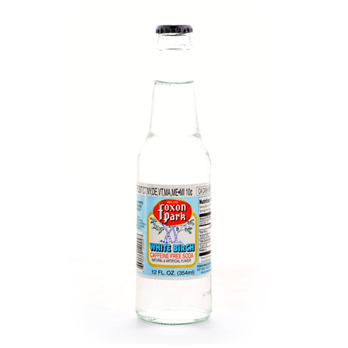 Foxon Park White Birch Beer - 12 oz (12 Glass Bottles)