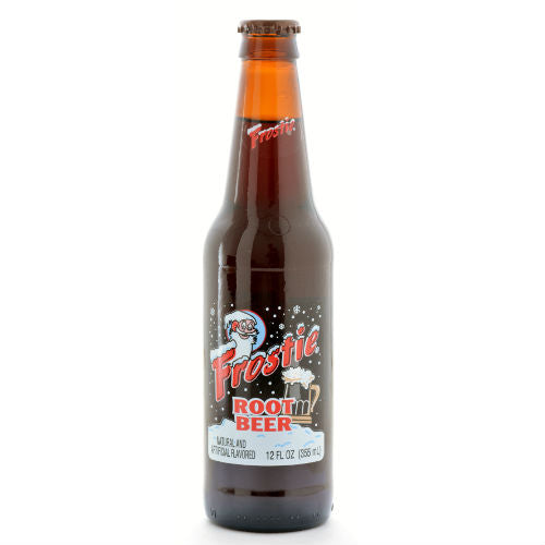 Frostie Root Beer with Cane Sugar - 12 oz (12 Glass Bottles)
