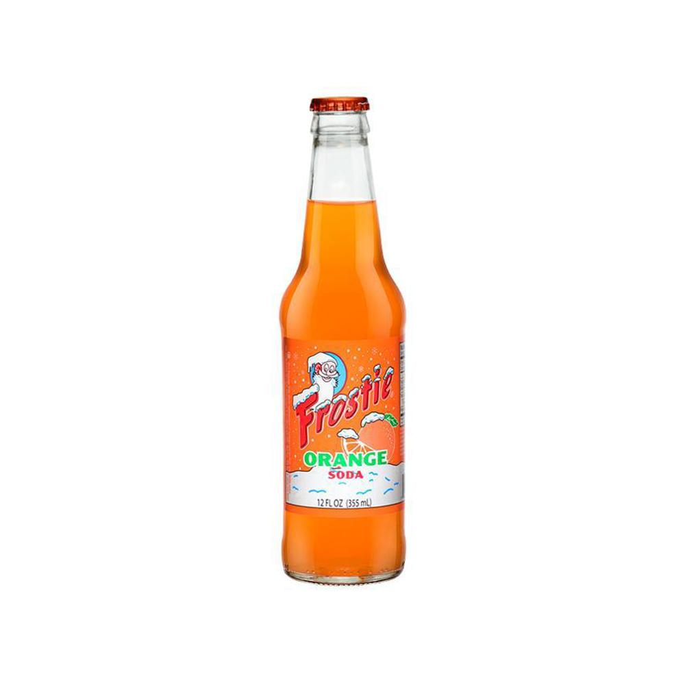 Frostie Orange - 12 oz (12 Glass Bottles
