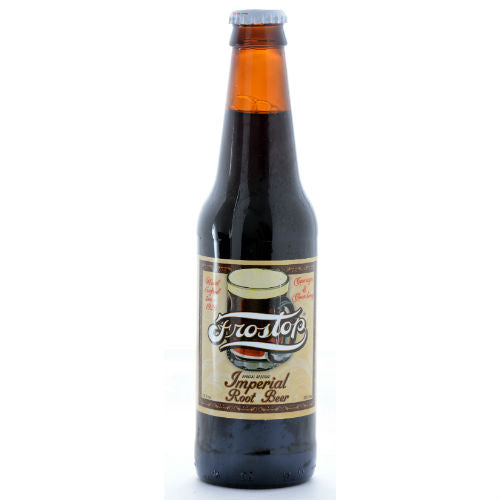 Frostop Imperial Root Beer - 12 oz (12 Glass Bottles)