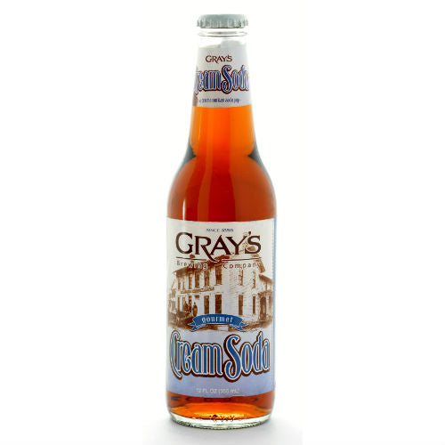 Gray's Cream Soda - 12 oz (12 Pack) - Beverages Direct