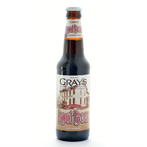 Gray's Root Beer - 12 oz (12 Pack) - Beverages Direct