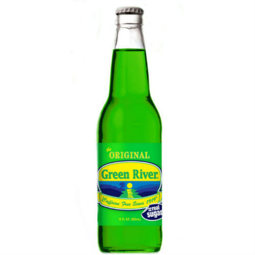 Green River Soda  - 12 oz (12 Glass Bottles)