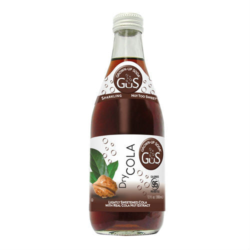 GuS Dry Cola - 12 oz (12 Glass Bottles)