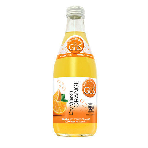 GuS Dry Valencia Orange - 12 oz (12 Glass Bottles)