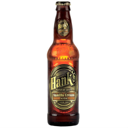 Hanks Vanilla Cream Soda  - 12 oz (12 Glass Bottles)