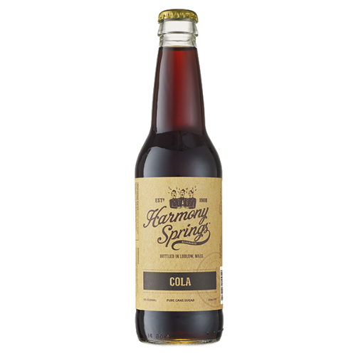 Harmony Springs Cola - 12 OZ (12 Glass Bottles)