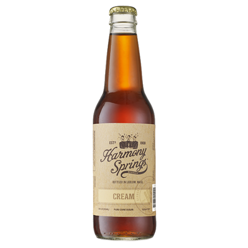 Harmony Springs Cream Soda - 12 OZ (12 Glass Bottles)