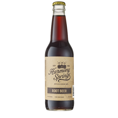 Harmony Springs Root Beer - 12 OZ (12 Glass Bottles)