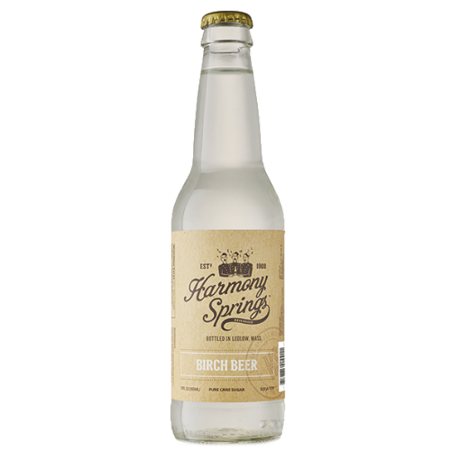 Harmony Springs Birch Beer - 12 OZ (12 Glass Bottles)