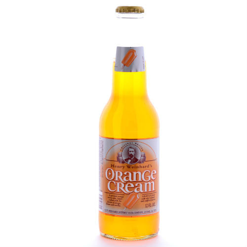 Henry Weinhard's Orange Cream - 12 oz (12 Glass Bottles)