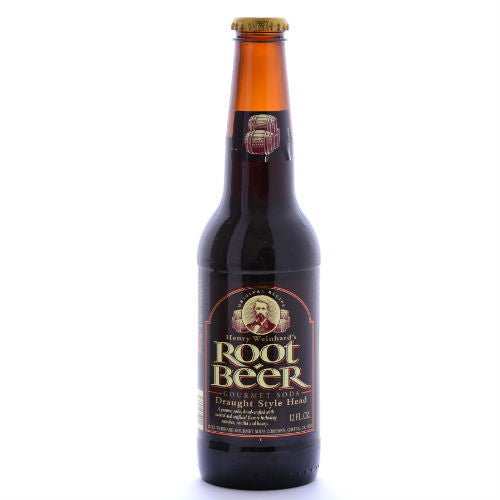 Henry Weinhard's Root Beer - 12 oz (12 Glass Bottles)