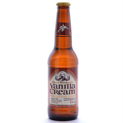 Henry Weinhard's Vanilla Cream - 12 oz (12 Glass Bottles)