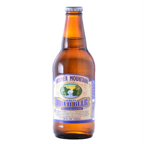 Hosmer Mountain White Birch Beer - 12 oz (12 Glass Bottles)