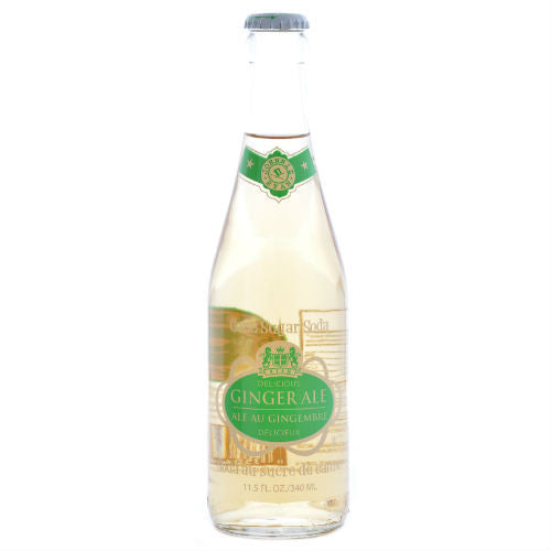 Johnnie Ryan Delicious Ginger Ale - 11.5 oz (12 Glass Bottles)