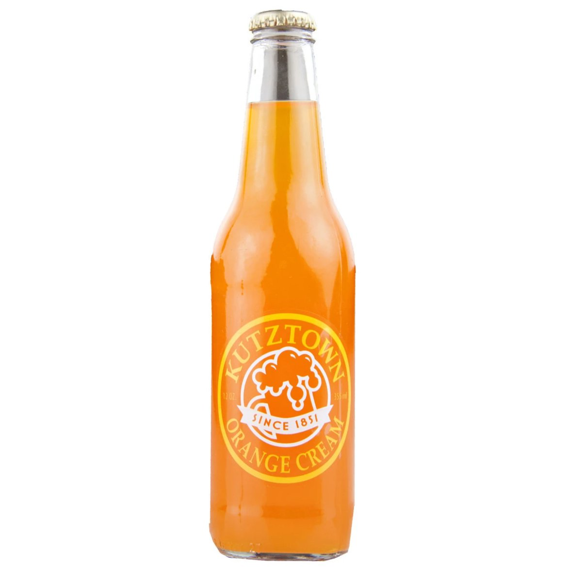 Kutztown Orange Cream - 12 oz (12 Glass Bottles)