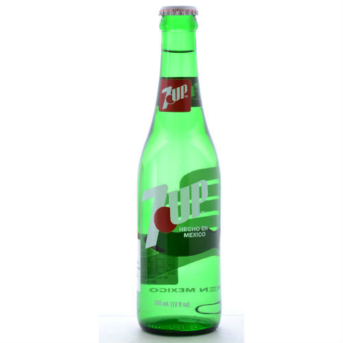 Mexican 7 UP - 12 OZ (12 Glass Bottles)