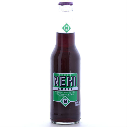 NEHI Grape Soda - 12 oz. (12 Pack)