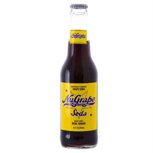 NuGrape Soda by Nesbitt's - 12 oz (12 Pack)
