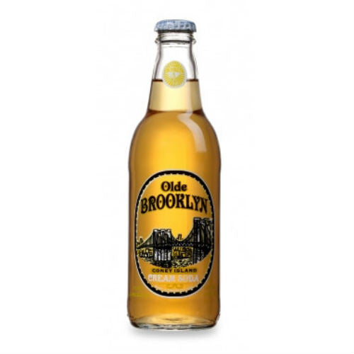Olde Brooklyn Coney Island Cream Soda - 12 oz (12 Glass Bottles)