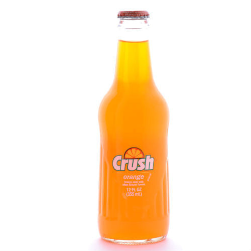 Orange Crush Soda - 12 oz (12 Glass Bottles)