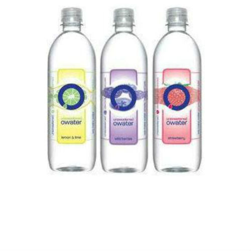 Owater Assorted Flavored Waters - 20oz (12 Bottles)
