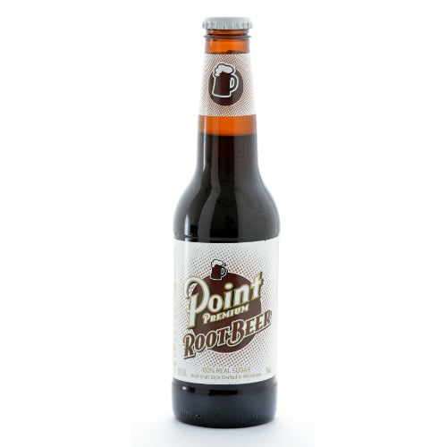 Point Premium Root Beer - 12 oz (12 Glass Bottles)