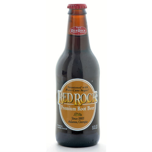 Red Rock Premium Root Beer - 12 oz (12 Glass Bottles)