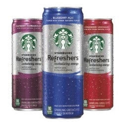 Starbucks Refreshers Assorted - 12oz (12 Pack) - Beverages Direct