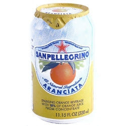 San Pellegrino Aranciata - 11.5 oz (12 Pack) - Beverages Direct