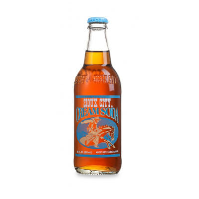 Sioux City Cream Soda - 12 oz (12 Glass Bottles)