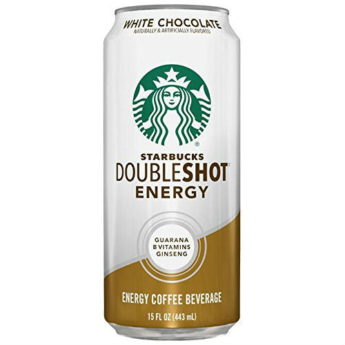Starbucks DoubleShot Energy + White Chocolate - 15 oz (12 Cans)