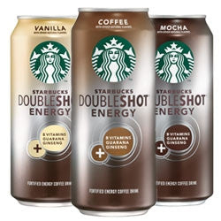 Starbucks DoubleShot Energy Coffee Assorted - 16oz (12 Pack) - Beverages Direct
