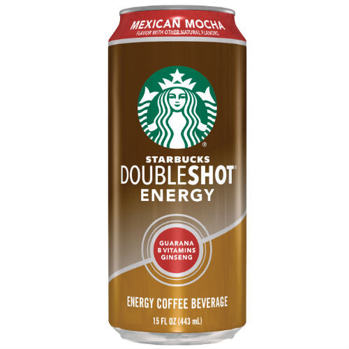 Starbucks DoubleShot Energy Mexican Mocha - 15 oz (12 Cans)