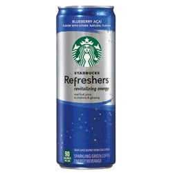 Starbucks Refreshers Blueberry Acai - 12oz (12 Pack) - Beverages Direct