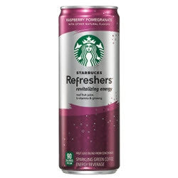 Starbucks Refreshers Raspberry Pomegranate - 12oz (12 Pack) - Beverages Direct