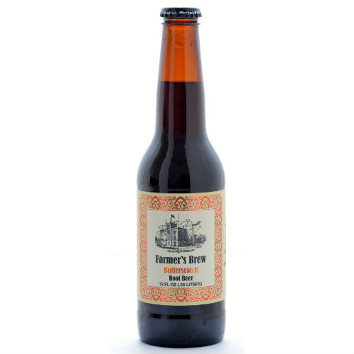 Twigs Farmers Brew Butterscotch Root Beer - 12 oz (12 Glass Bottles)