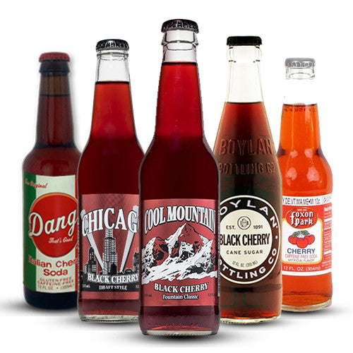 Ultimate CHERRY Soda Sampler - 12 oz (12 Bottles)