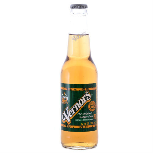Vernors Ginger Ale - 12 oz (12 Glass Bottles)