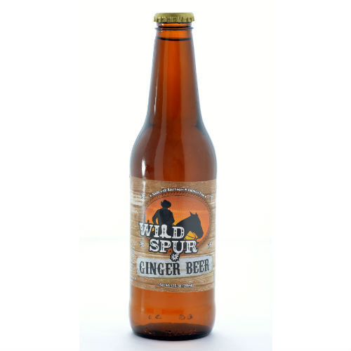 Wild Spur Ginger Beer - 12oz (12 Glass Bottles)