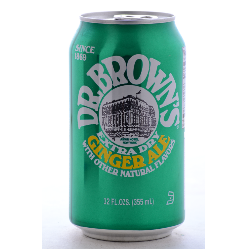 Dr. Brown's Ginger Ale - 12 oz (12 Pack) - Beverages Direct